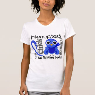 Chick Interrupted 3 CFS Chronic Fatigue Syndrome Tees