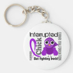 Chick Interrupted 3 Chiari Malformation Key Chains