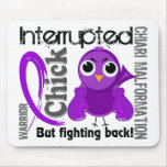 Chick Interrupted 3 Chiari Malformation Mousepads