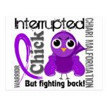 Chick Interrupted 3 Chiari Malformation Postcards
