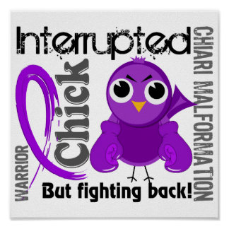 Chick Interrupted 3 Chiari Malformation Poster
