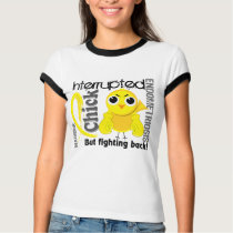 Chick Interrupted 3 Endometriosis T-Shirt
