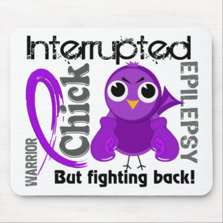Chick Interrupted 3 Epilepsy Mouse Pad