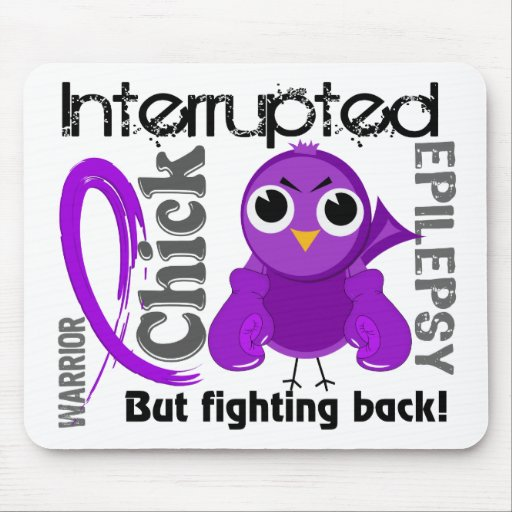 Chick Interrupted 3 Epilepsy Mousepad