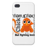 Chick Interrupted 3 Leukemia Cover For iPhone 4