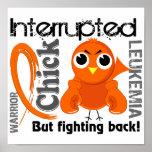 Chick Interrupted 3 Leukemia Poster