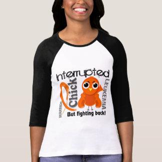 Chick Interrupted 3 Leukemia T-shirts