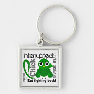 Chick Interrupted 3 Liver Disease Keychain