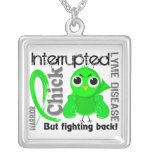 Chick Interrupted 3 Lyme Disease Necklace