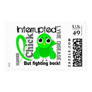 Chick Interrupted 3 Lyme Disease Postage