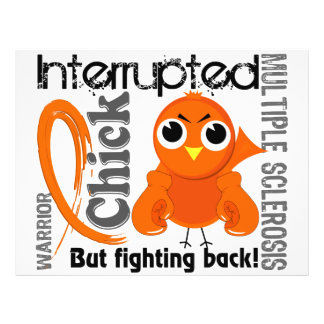 Chick Interrupted 3 Multiple Sclerosis MS Flyers