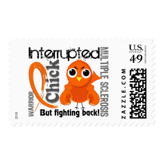 Chick Interrupted 3 Multiple Sclerosis MS Stamp