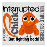 Chick Interrupted 3 Multiple Sclerosis MS Poster