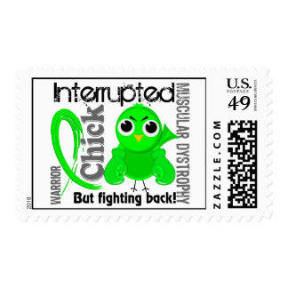 Chick Interrupted 3 Muscular Dystrophy Stamp