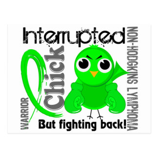 Chick Interrupted 3 Non-Hodgkin's Lymphoma Postcard