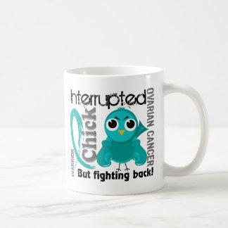 Chick Interrupted 3 Ovarian Cancer Coffee Mug