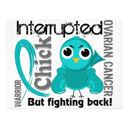 Chick Interrupted 3 Ovarian Cancer Flyer