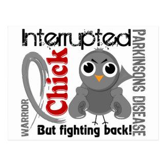 Chick Interrupted 3 Parkinson's Disease Postcard