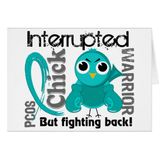Chick Interrupted 3 PCOS Polycystic Ovary Syndrome Card