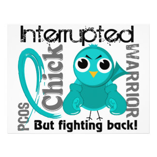 Chick Interrupted 3 PCOS Polycystic Ovary Syndrome Flyer Design