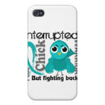 Chick Interrupted 3 PCOS Polycystic Ovary Syndrome iPhone 4/4S Cases