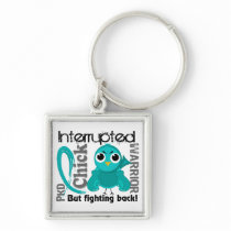Chick Interrupted 3 PKD Polycystic Kidney Disease Keychain
