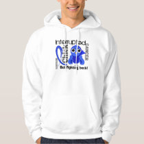 Chick Interrupted 3 Rectal Cancer / Anal Cancer Hoodie