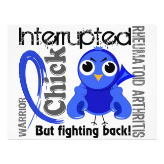 Chick Interrupted 3 Rheumatoid Arthritis RA Flyer