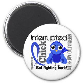 Chick Interrupted 3 Rheumatoid Arthritis RA 2 Inch Round Magnet