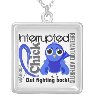 Chick Interrupted 3 Rheumatoid Arthritis RA Custom Necklace