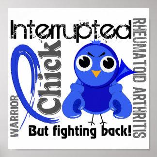 Chick Interrupted 3 Rheumatoid Arthritis RA Print