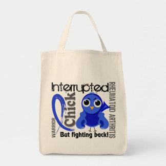 Chick Interrupted 3 Rheumatoid Arthritis RA Tote Bag
