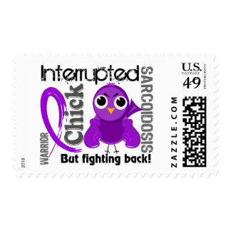 Chick Interrupted 3 Sarcoidosis Stamps