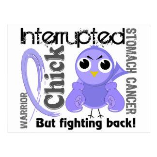 Chick Interrupted 3 Stomach Cancer Postcard
