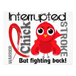 Chick Interrupted 3 Stroke Custom Flyer