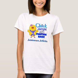Chick interrupted but fighting back shirt