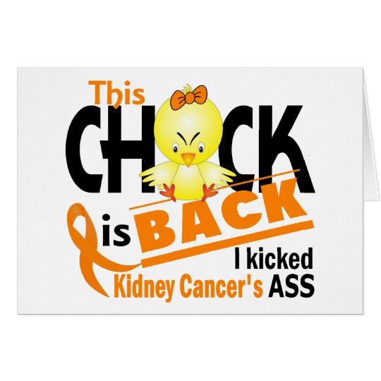Chick Is Back Kidney Cancer Card