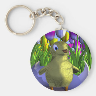 Chick Keychain