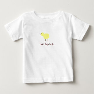 chick, Let's be friends Baby T-Shirt