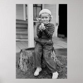 Chick lindo, 1937 impresiones