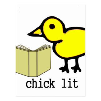 Chick Lit Postcard