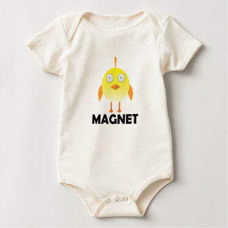 Chick Magnet - Baby American Apparel Organic Bodys Baby Bodysuit