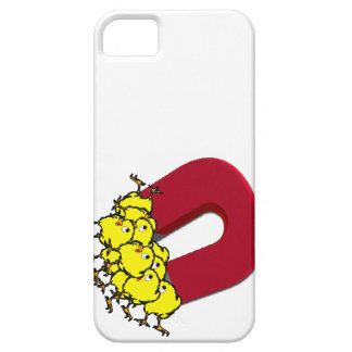 Chick Magnet Cartoon iPhone SE/5/5s Case
