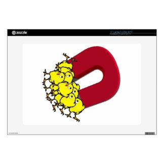 Chick Magnet Cartoon Laptop Skin