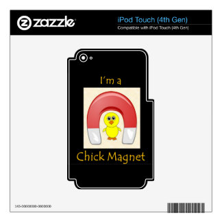 Chick Magnet Decals For iPod Touch 4G