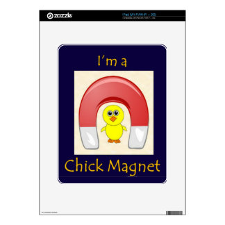 Chick Magnet Decals For The iPad
