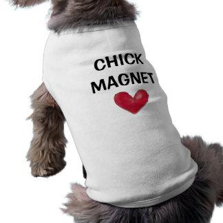 CHICK MAGNET DOG T SHIRT