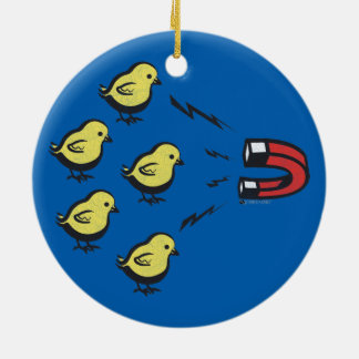 CHICK MAGNET FUNNY CHRISTMAS ORNAMENT