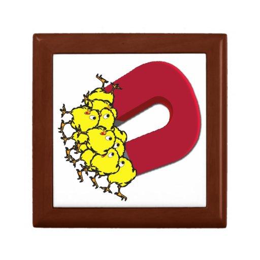 Chick Magnet Keepsake Box