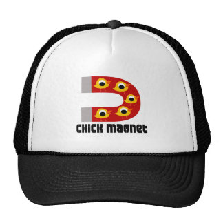 Chick Magnet Mesh Hats